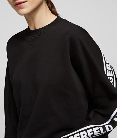 MIKINA KARL LAGERFELD RUE ST-GUILLAUME LOGO SWEAT