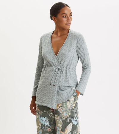 SVETR ODD MOLLY WRAP UP & GO LONG CARDIGAN
