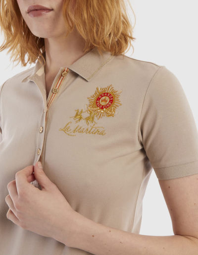 POLOKOŠILE LA MARTINA WOMAN S/S POLO PIQUET STRETCH