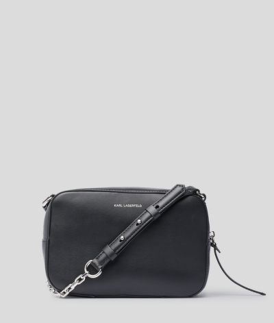 CROSSBODY KARL LAGERFELD K/STUDIO TWEED CAMERA BAG