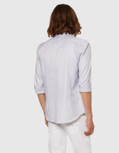 KOŠILE LA MARTINA MAN L/S SHIRT FANCY TWILL