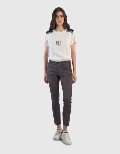 TRI?KO LA MARTINA WOMAN T-SHIRT S/S TENCEL