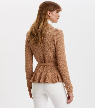 SVETR ODD MOLLY EVERY HOUR FRILL CARDIGAN
