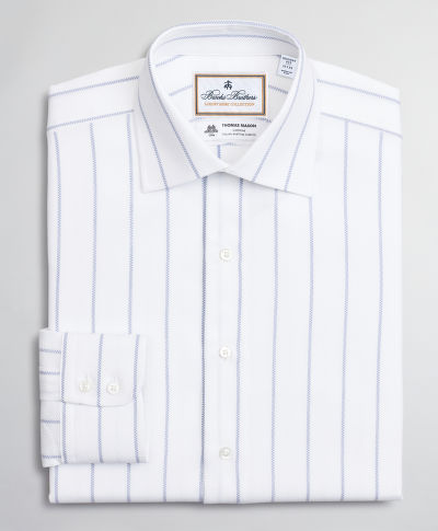 KOŠILE BROOKS BROTHERS DS IT LUX FRNK FF NP 2BC RGNT PINSTRIPE