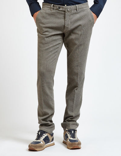 KALHOTY LA MARTINA MAN CHINO PANT COTTON TWEED