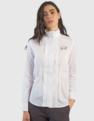 KOŠILE LA MARTINA WOMAN COTTON POPLIN SHIRT L/S