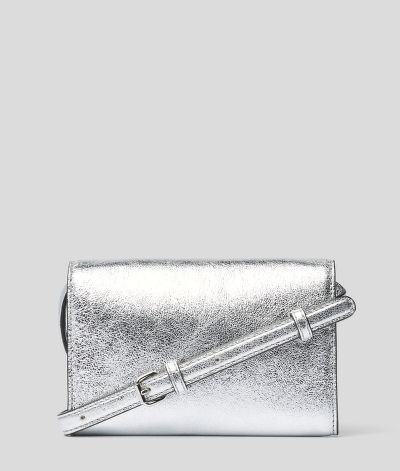 BUM BAG KARL LAGERFELD K/SIGNATURE METALLIC BELT-BAG