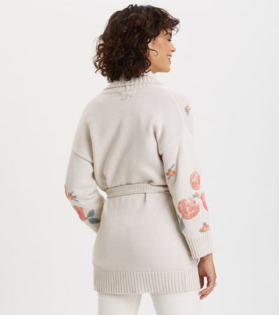 SVETR ODD MOLLY ENTICING EMBROIDERED CARDIGAN