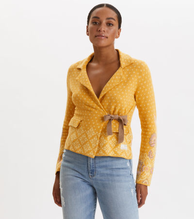 SVETR ODD MOLLY ENTANGLEMENT CARDIGAN