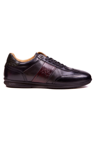POLOBOTKY LA MARTINA MAN SHOES BUTTERO CALF LEATHER