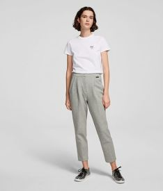KALHOTY KARL LAGERFELD TAILORED JERSEY TROUSERS
