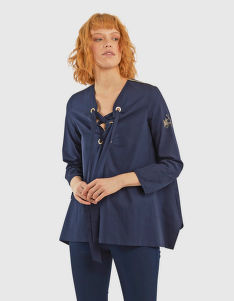 KOŠILE LA MARTINA WOMAN COTTON POPELINE BLOUSE