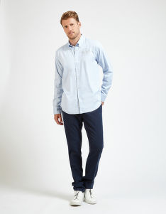 KOŠILE LA MARTINA MAN SHIRT L/S OXFORD STRETCH