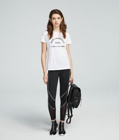 TRIČKO KARL LAGERFELD ADDRESS LOGO TEE