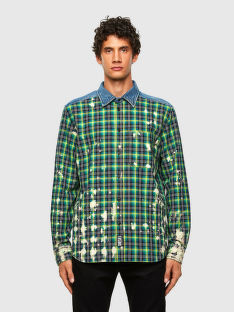KOŠILE DIESEL S-MOON-CHECK SHIRT