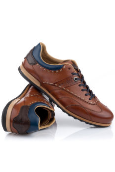 POLOBOTKY LA MARTINA MAN SHOES CUERO