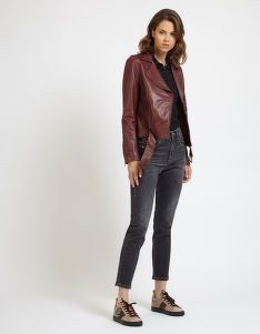 BUNDA LA MARTINA WOMAN LEATHER JACKET LEATHER