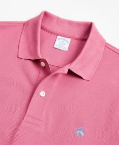 POLOKOŠILE BROOKS BROTHERS KNT SS SUPIMA PERF POLO SLIM RED VIOLET