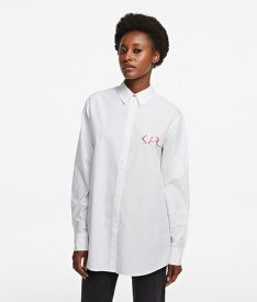 KOŠILE KARL LAGERFELD KARL LEGEND TUNIC SHIRT