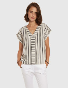 HALENKA LA MARTINA WOMAN BLOUSE VISCOSE TWILL