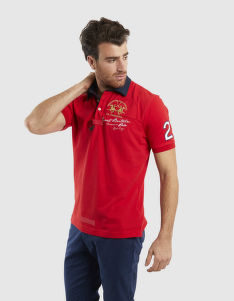 POLOKOŠILE LA MARTINA MAN POLO S/S PIQUET STRETCH