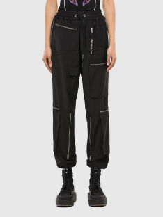 KALHOTY DIESEL P-LEX-A TROUSERS