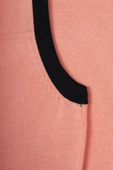 SVETR BROOKS BROTHERS SWT SHELL CORAL PINK