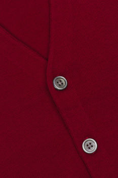 SVETR BROOKS BROTHERS SWT WL EASY CARE SOLID WAISTCOAT NEW RED
