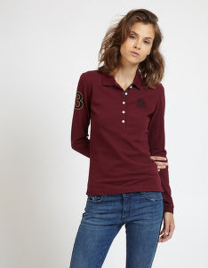 POLOKOŠILE LA MARTINA WOMAN POLO L/S PIQUET STRETCH