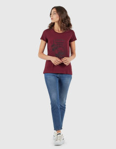 TRIČKO LA MARTINA WOMAN T-SHIRT STRETCH CO JERSE