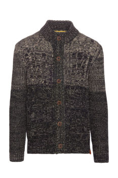 SVETR CAMEL ACTIVE CARDIGAN CABLE WITH MO