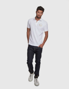 POLOKOŠILE LA MARTINA MAN POLO S/S TEXTURED PIQUET