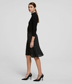 ŠATY KARL LAGERFELD KNITWEAR DRESS