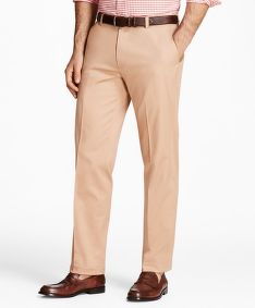 KALHOTY BROOKS BROTHERS CBT LW ADV STRETCH CHINO MILANO NEW BKHAKI