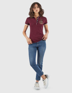 POLOKOŠILE LA MARTINA WOMAN POLO S/S PIQUET STRETCH