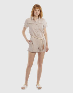 ŠATY LA MARTINA WOMAN LINEN SUIT S/S