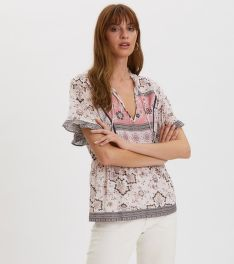 HALENKA ODD MOLLY BOHEMIC S/L BLOUSE