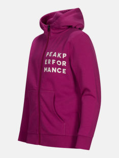 MIKINA PEAK PERFORMANCE JR GROUND ZIP HOOD