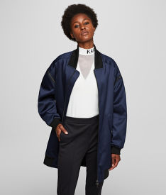 BUNDA KARL LAGERFELD BOMBER W/ ZIP OFF SLEEVES
