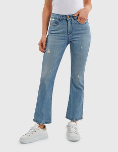 DŽÍNY LA MARTINA WOMAN DENIM PANT BLUE DENIM ST