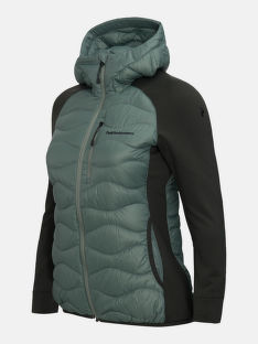 BUNDA PEAK PERFORMANCE W HELIUM HYB HOOD JACKET