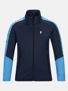 MIKINA PEAK PERFORMANCE JR RIDE ZIP