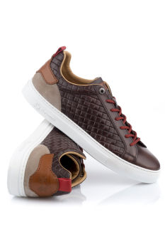 TENISKY LA MARTINA MAN SHOES BUTTERO- INTRECCIO T.MORO