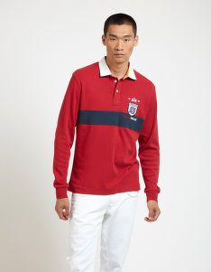 POLOKOŠILE LA MARTINA MAN POLO L/S JERSEY INTERLOCK