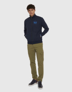 MIKINA LA MARTINA MAN COTTON FLEECE FULL ZIP