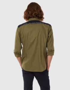 KOŠILE LA MARTINA MAN LIGHT TWILL L/S SHIRT LIGH