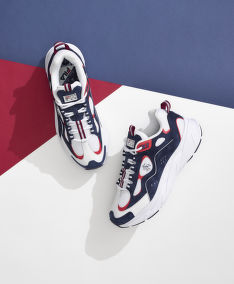 TENISKY BROOKS BROTHERS FILA TRIGATE X BROOKS BROTHERS WHITE MULTI