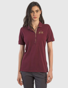 POLOKOŠILE LA MARTINA WOMAN CO/MODAL PIQUET POLO S/S