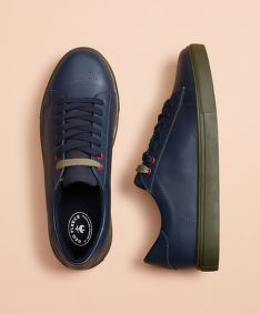 TENISKY BROOKS BROTHERS RF SNEAKER CLR BLOCKED NAVY/OLIVE NIGHT