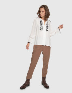 HALENKA LA MARTINA WOMAN SHIRT L/S TWILL VISCOSA